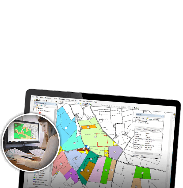 gis mapping services newbury reading berkshire