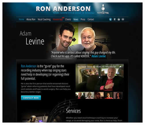 Ron Anderson Vocal Coach